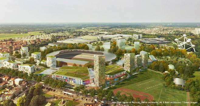 NEO : un projet immobilier controversé au Heysel