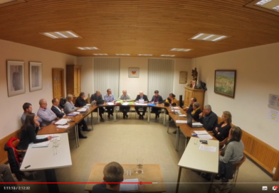 Nassogne : Les séances du Conseil communal sont filmées de manière officielle.
